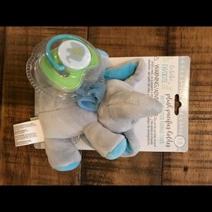 Disney Accessories - 2 Disney Mickey bibs & elephant pacifier - NEW